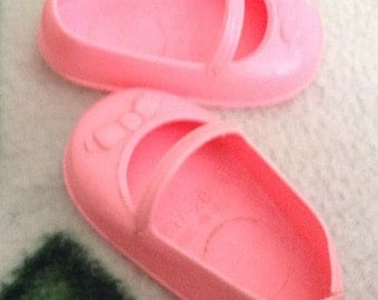 Retro Pink Doll Shoes