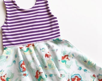 Little Mermaid twirly dress