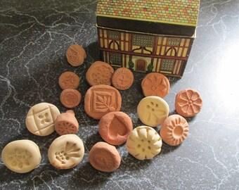 Set of Vintage Cookie Presses