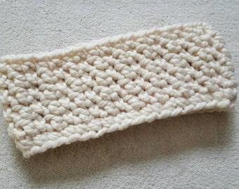 Winter Headband, Ear Warmer, Crochet Headwrap, Crochet Headband, Chunky Crochet Earwarmer, Winter Accessory, Gift for Her