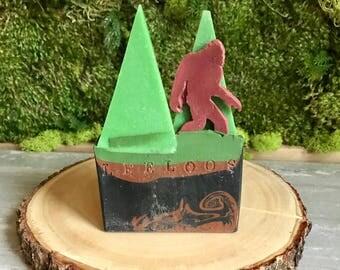 Soapsquatch.  Sasquatch Bigfoot soap