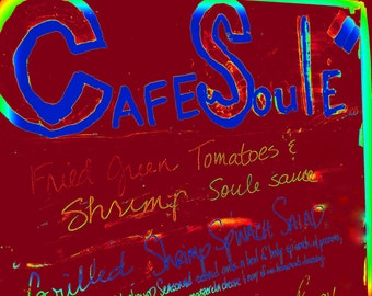 Cafe Soul Canvas