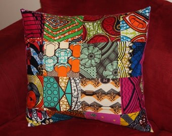 African print pillow cases