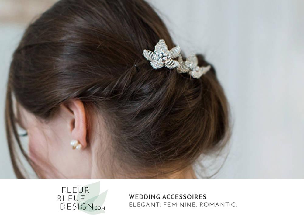 Brautschmuck haare blumen  Haarblüten Hochzeit Haarschmuck Braut Haarschmuck Braut