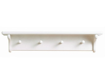 shelf collette trash white with wall model hooks can bathroom