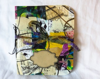 Collaged Mess #3 - Handmade Art Journal