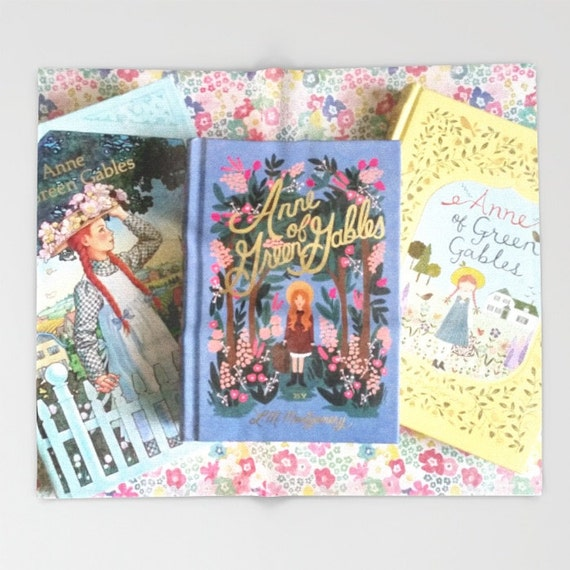 Anne Of Green Gables Library Throw Blanket Books Decor Baby