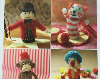 Finger Puppets - Knit 12 Cute Characters to Make - Paperback Book