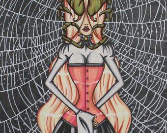 ART PRINT Spider Queen