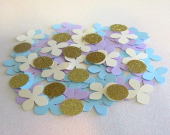 280  Flower Confetti Hydrangea Confetti Floral First Birthday Decor Floral Bridal Shower Garden Party Decorations Garden Party Bridal Shower