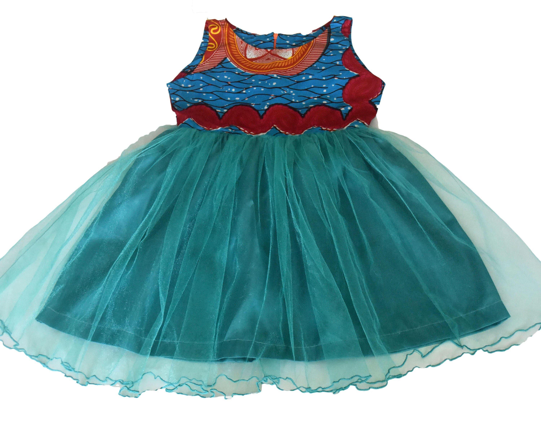 African Print girls dresses, Girls fancy dress,Pretty girl dresses ...