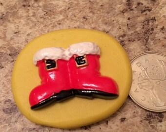 Santas Boot Mold silicone