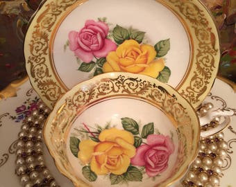Paragon Tea cup and saucer.