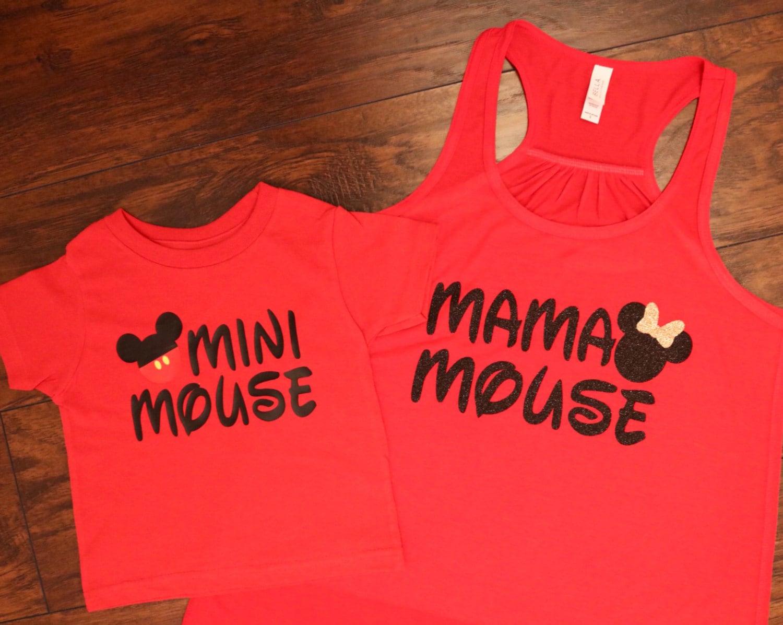 Mama Mouse Tank Mini Mouse Tee Set