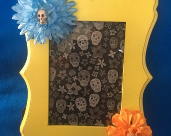 Day of the Dead picture frame