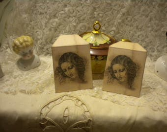 Vintage Da Vinci Inspiration Tea Bag Envelopes (6)