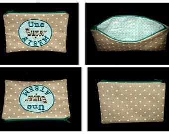 pouch bag gift home (customizable to order)