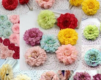 Multicolor Silk 6cm Marigold Artificial Flower For Wedding Party Home Decoration Mariage Calendula Simulation Flowers