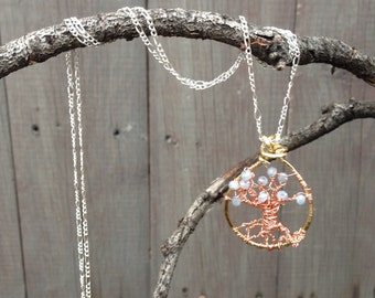Misty Rain Handmade Tree of Life Pendant