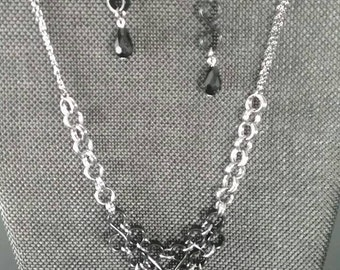 Black Teardrops and Chainmaille