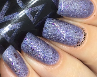 Moonrock by CANVAS lacquer - holographic and flakie