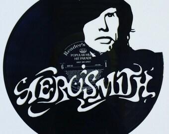 Aerosmith Vinyl Record Art