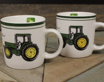Gibson John Deere Coffee Mug Set of 2