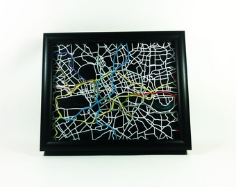 "London Tube Map - 8""x10"""