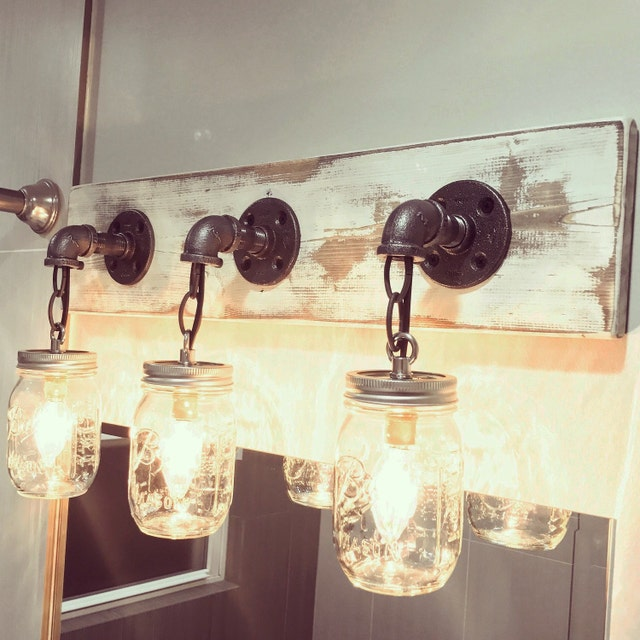 14 Light Diy Mason Jar Chandelier Rustic Cedar Rustic Wood: Industrial Rustic Light Fixtures And Accessories By Lulight
