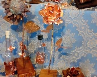 Genio Italiano's basket: 9 handmade copper products