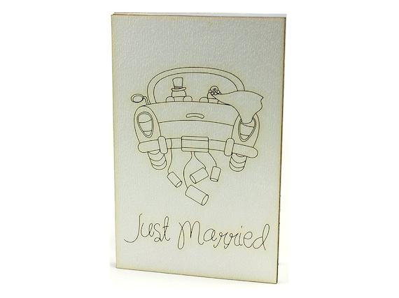 Wedding Cards Wood Cards Unique Wedding Gifts By CardsWooden