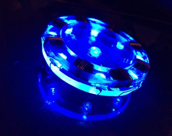 ironman arc reactor home made Blue Wireless for Cosplay  SPECIAL PRICE OFFER!free shipping