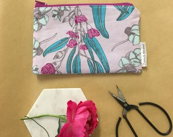 Coin Purse - Gorgeous Lilac Eucalyptus