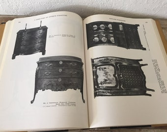 VIntage Book Titled A Directory of Antique Furniture European and American Designs