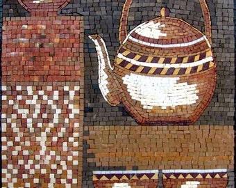 Mosaic Designs- Teakettle