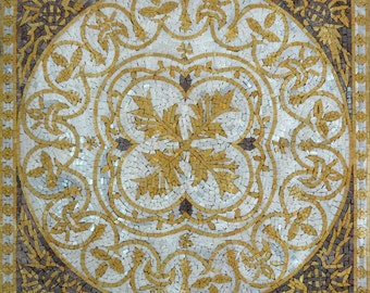 Botanical Mosaic Square - Sasha