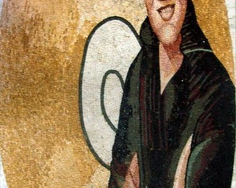 Elvis Presley Mosaic Portrait