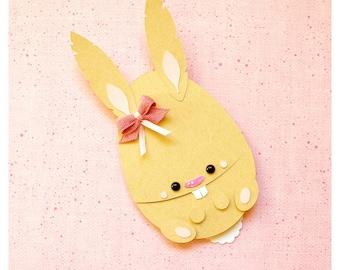 "plotterdatei - slider card ""easter bunny"""