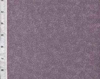 """Free Spirit """"Designer Pinwheels"""" Lavendar Tonal Fabric"""