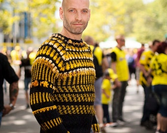"Special collection ""BVB - in SchwarzGelb at home"" sweater"