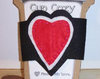 Heart Cup Cozy