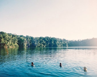 Australia Photography, Summer Lake, Travel Photography, Fine Art, Nostalgia