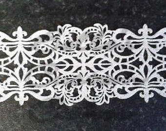 Edible cake lace-edible cupcake lace-edible cookie lace-edible cake decorations