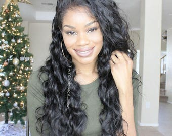 Brazilian Virgin Lace Front Human Hair Wig