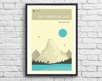 Art-Poster - 50 x 70 cm - Glacier National Park