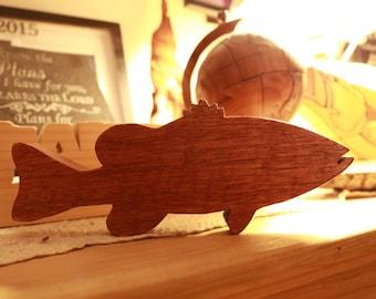 Largemouth Bass Cutout