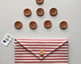 letters fabric wallets