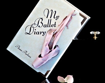 Book Clutch BALLET DIARY / Anna Pavlova (name/date possible)