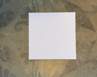 """1 3/4"""" Squares for English Paper Piecing by All Quilty Choose Package Size"""