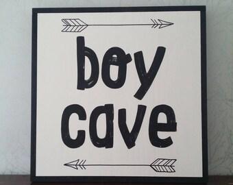 "24x24"" Boy cave"